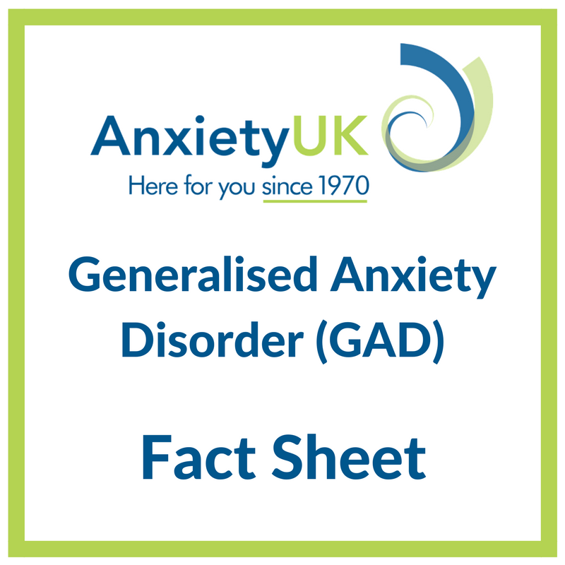 Understanding Generalized Anxiety >> Generalised Anxiety Disorder Anxiety Uk