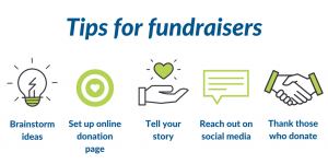 Tips to help fundraisers – tw