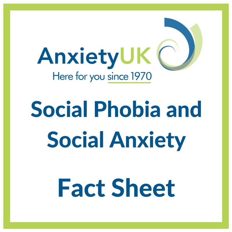 Social Phobiasocial Anxiety Anxiety Uk